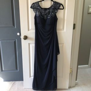 Navy Evening dress size 6